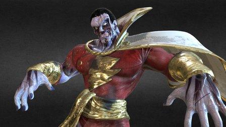 Kandarian Captain Marvel 3D Model