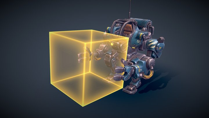 Mech Constructor: The Worker 3D Model