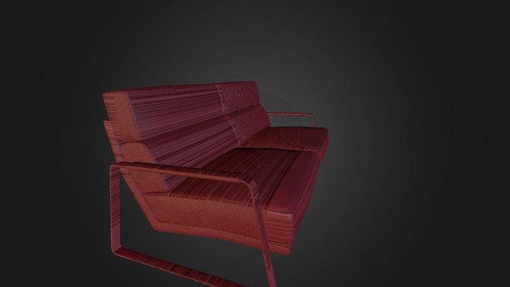 Koon_2-zits_2cus_chrome 3D Model