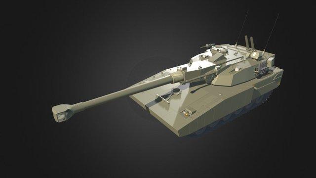 Strv 2000 T140/40 3D Model