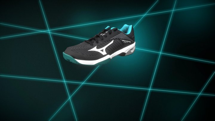 Mizuno | Wave Exceed Tour 3 - Español 3D Model