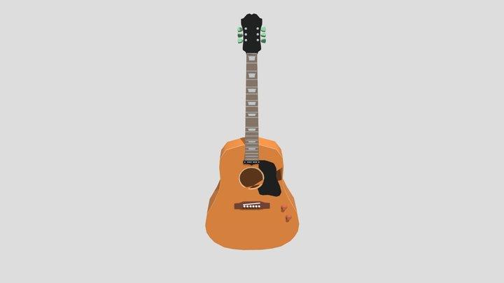 Guitar Model 3D Model
