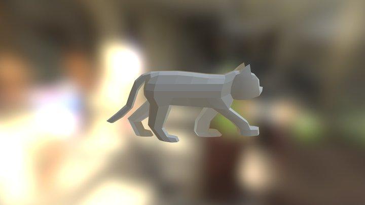 Cat2 3D Model