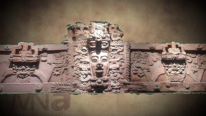 Friso de Placeres - Sala Maya MNA 3D Model