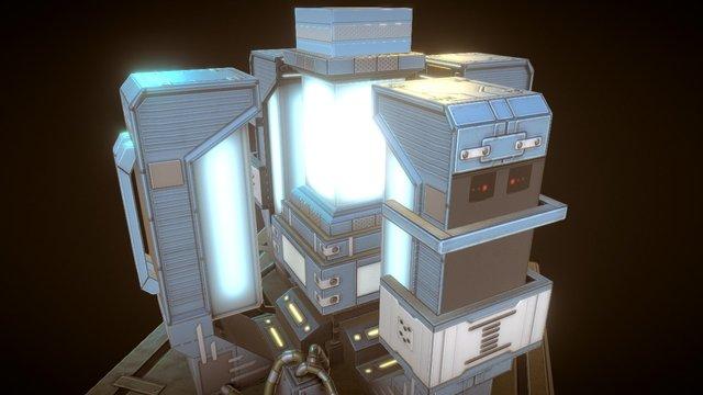 Entrocore : Power Plant 3D Model