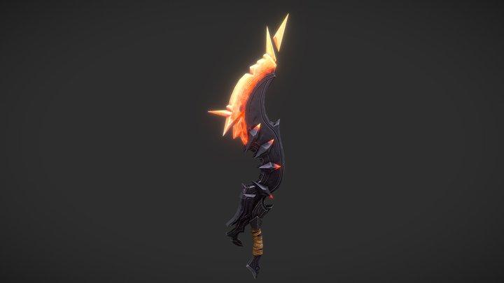 Sword Half-Plasma /Inferno blade 3D Model
