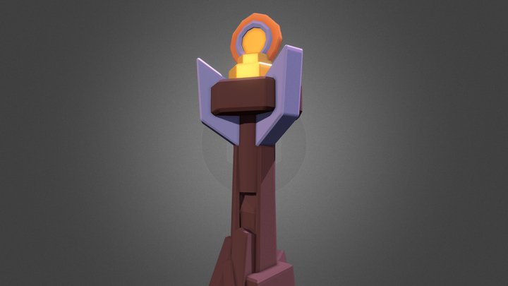 Inferno Tower - Clash Royale 3D Model