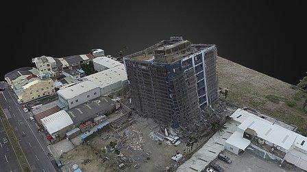 旺林飯店傾斜(02/10 12:30拍攝) 3D Model