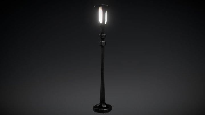 Lamp / Street light 3D Model