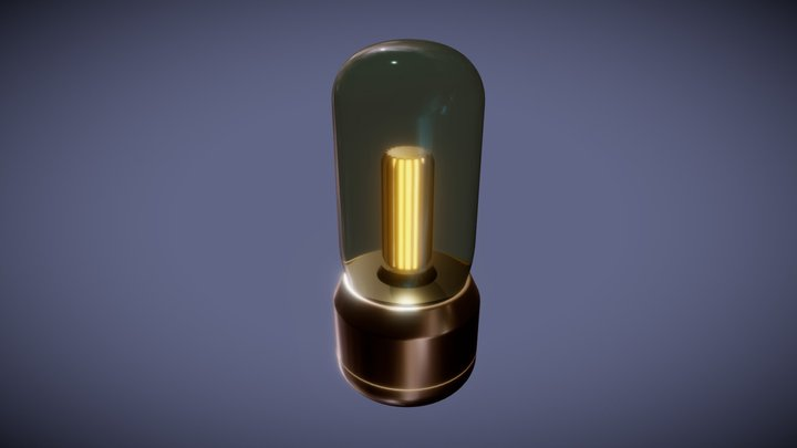 Lamp - Aether Beacon 3D Model