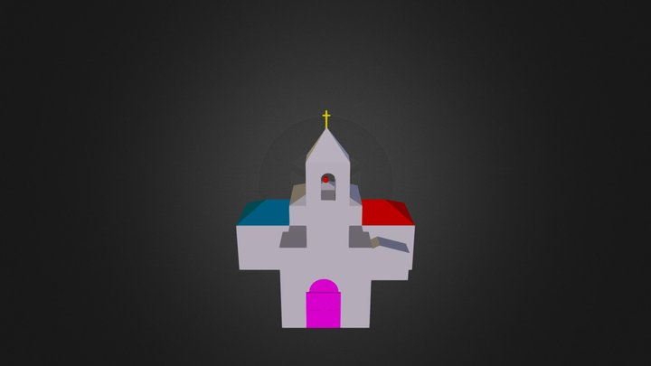 iglesia mayor 3D Model