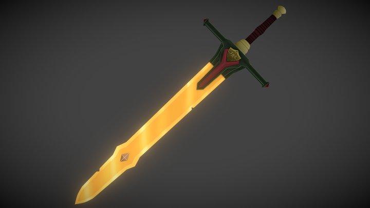@AlohaRyda's Sword 3D Model