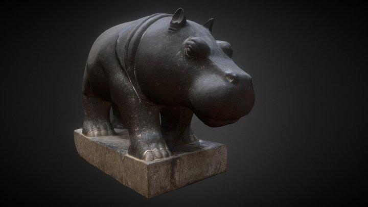 Hippopotame 3D Model
