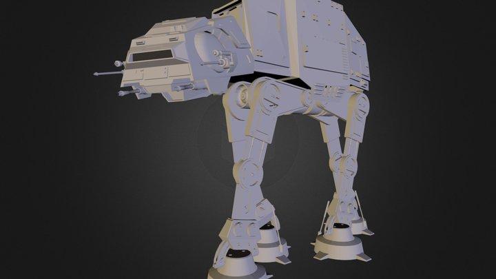 Star Wars Imperial ATAT Walker 3D Model
