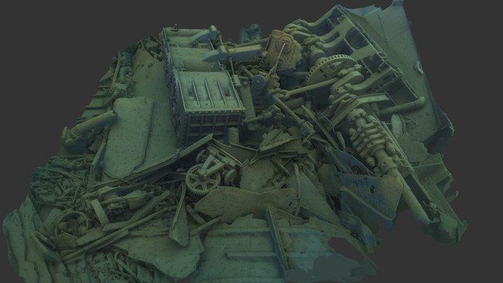Isle Royale NP - Glenlyon Stern 3D Model