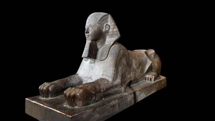 Sphinx of Hatshepsut 3D Model