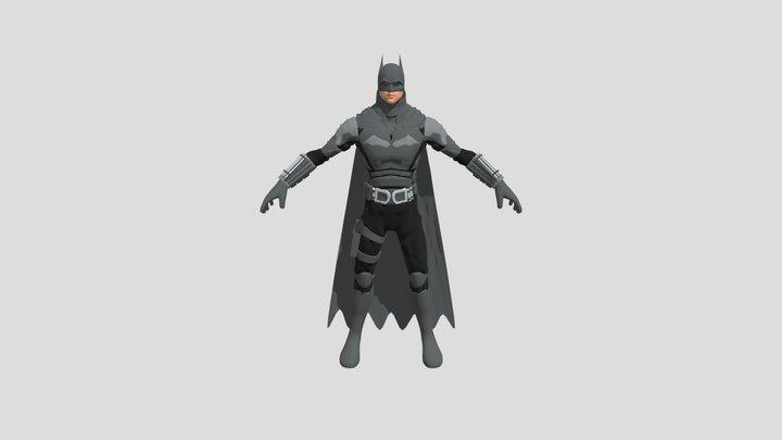 Batman Robert Pattinson for user 3D Model