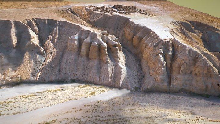 Dead Sea Qumran 3D Model