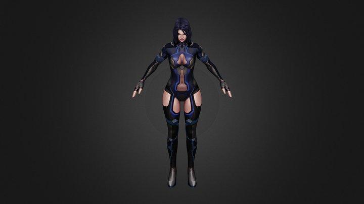 Tetra 3D Model