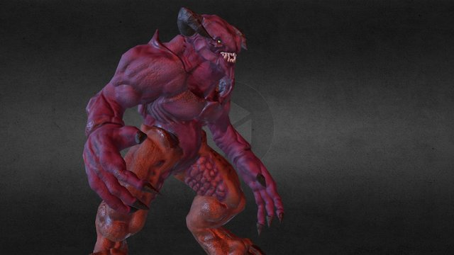 Baron Of Hell 3D Model
