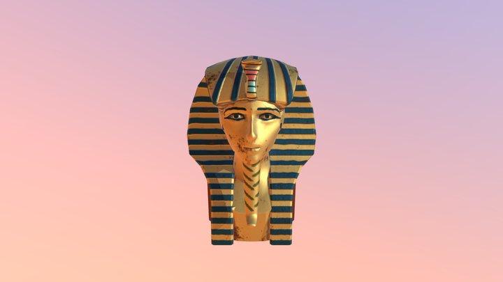 Tutankhamun's burial mask 3D Model