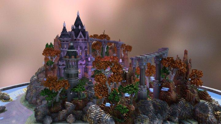 Fall Valley Keep - Hub 3D Model