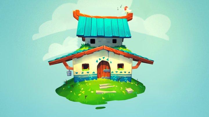 Taka House 3D Model