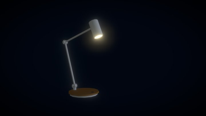 office lamp 3D Model