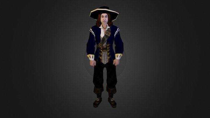 Pirate3 3D Model