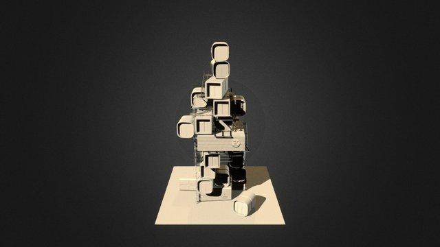 """Ready Player One """"The Stacks"""" 3D Model"""