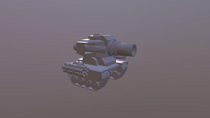 Mega Tank 3D Model