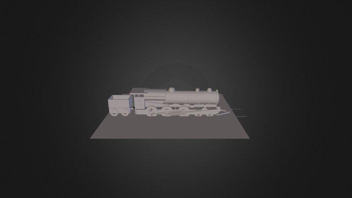Locomotora 3D Model