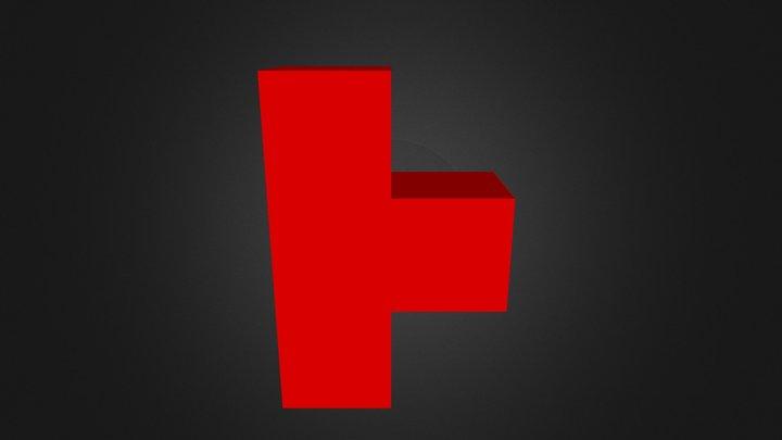 Puzzzle Cube Part 4 3D Model