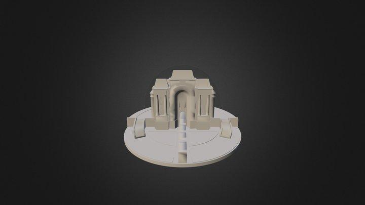La Porte de Paris 3D Model
