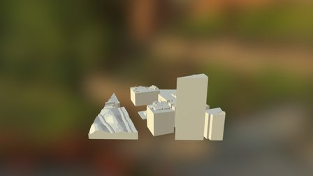 Melbourne City (2) (LIDAR) 3D Model