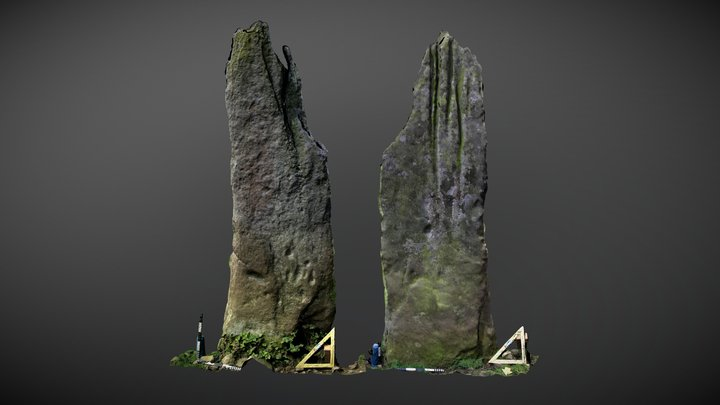 Swinburne Standing Stone (Nov 2007) 3D Model