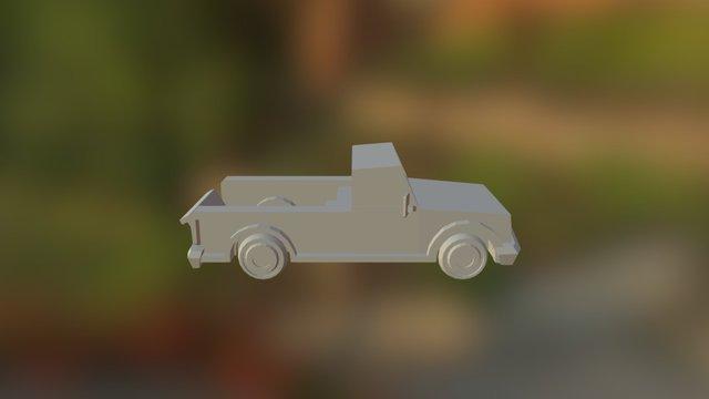 Truck Texture Model 3D Model