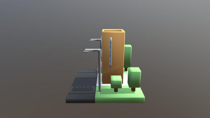 Hostel 3D Model