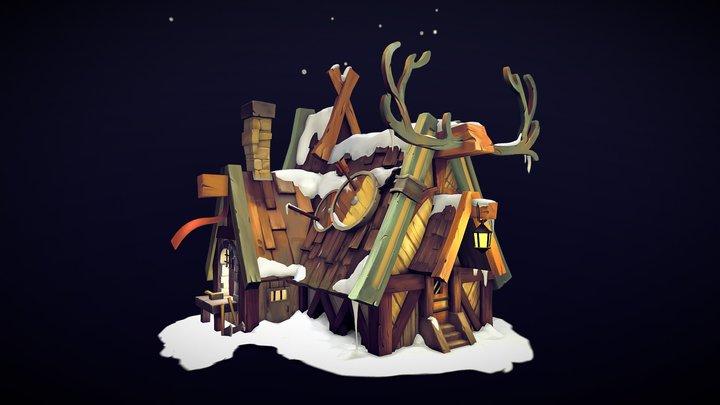 Reindeer blacksmith 3D Model