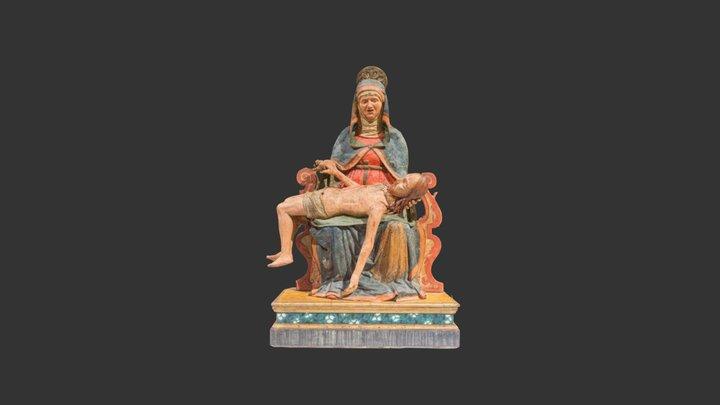 Pietà Scultura lignea - Monsampolo del Tronto 3D Model