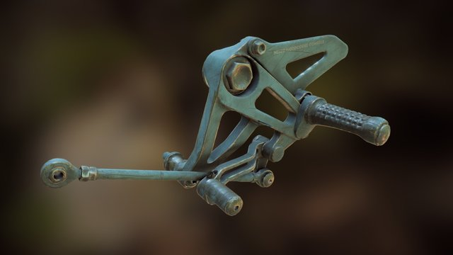 Pedal 3D Model