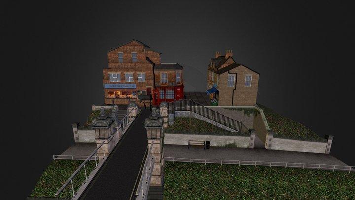 CityScene London by Thomas van Fucht 3D Model