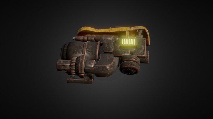 BumbleBee Blaster Reworked - Videogame 3D Model