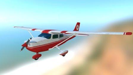 Cesna Airplane 3D Model