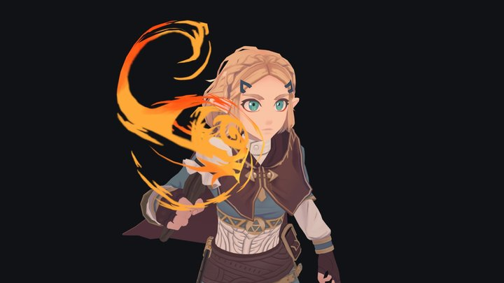 Zelda - Breath Of The Wild 3D Model