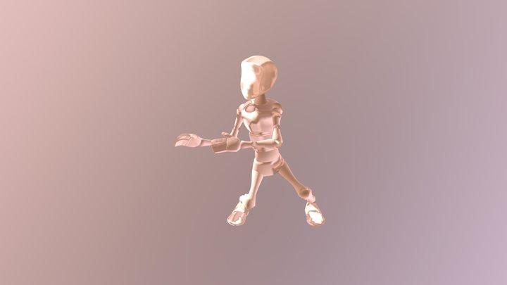 Adventure Time Jake's dance - animation 3D Model