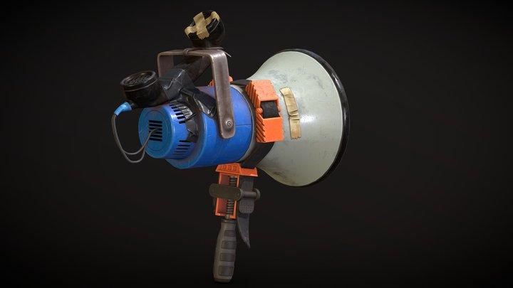 Megaphone - Rust 3D Model