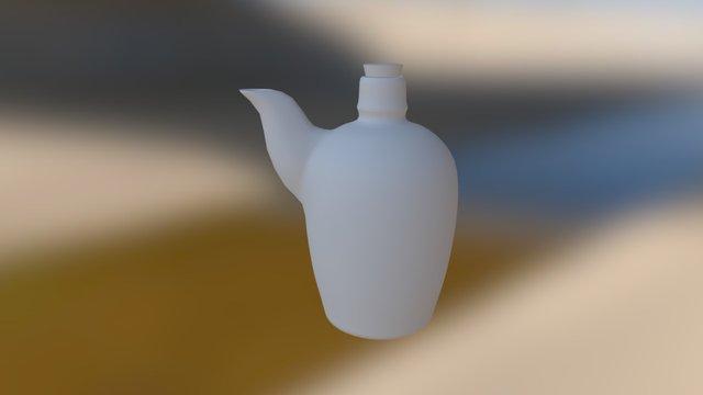 Spout Bottle 3D Model