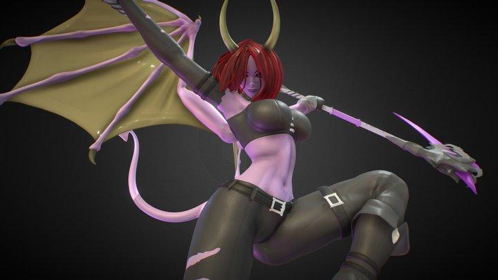 Raethe 01   Guardians' Destiny 3D Model