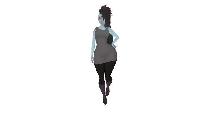Marceline (Dress 2) 3D Model